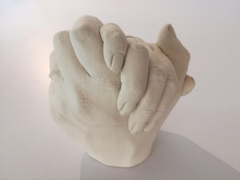 Gipszöntés kéz